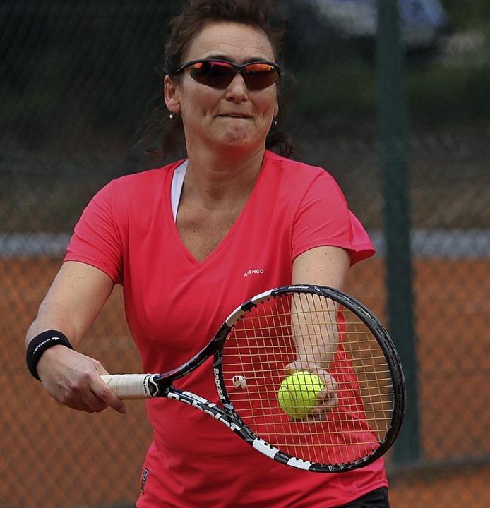 Punktegarantin: Die Schweizerin Romana...n dieser Saison alle ihre drei Einzel.  | Foto: Uwe Rogowski