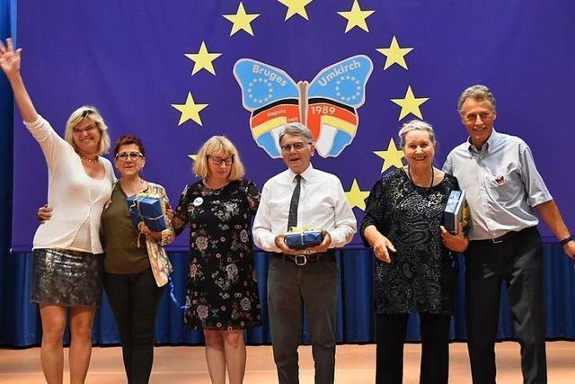 Umkirch feiert das 30-jährige Bestehen der Städtepartnerschaft mit Bruges