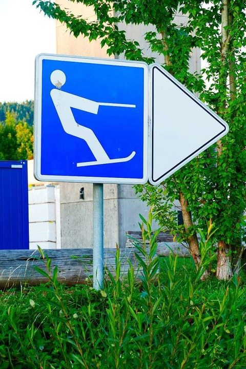 Ein ziemlich klarer Hinweis.     Foto: Jannik Jürgens