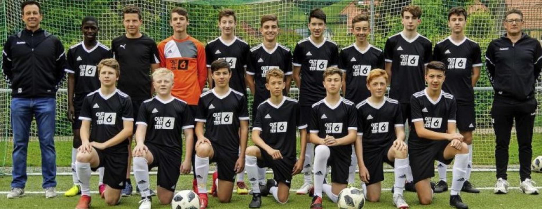 <BZ-FotoAnlauf>SG Münstertal:</BZ-Foto...> Die Meistermannschaft der C1-Jugend   | Foto: Privat
