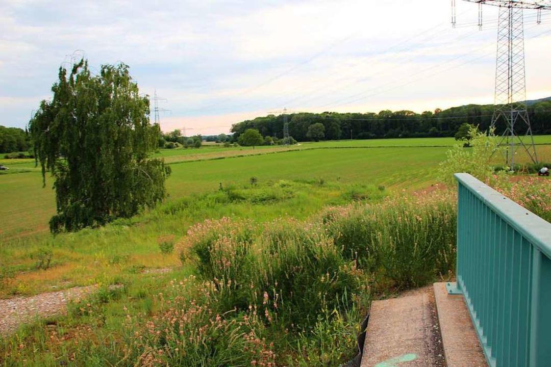 Blick von der sogenannten So-da-Brücke...soll die B31 West weitergebaut werden.  | Foto: Mario Schöneberg