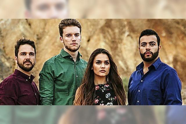 Das junge spanische Vokalensemble Cantoría konzertiert im Freiburger Humboldtsaal