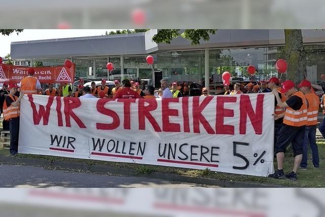 Warnstreik bei Ortenauer Betrieben des KFZ-Handwerks