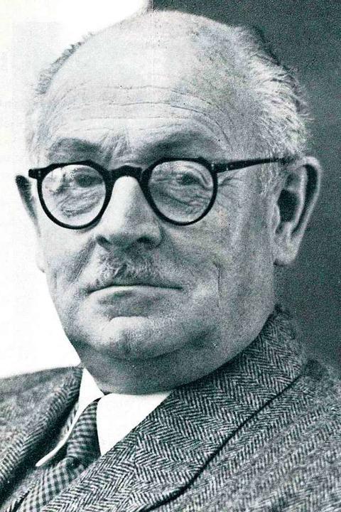 Ambivalentes Bild: Vereinsgründer Alfr...smus Dekan der Medizinischen Fakultät.  | Foto: privat