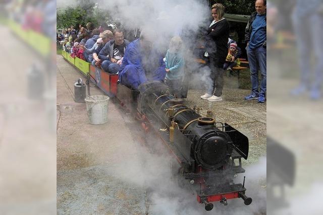Dampfbahnclub Auenheim zeigt seine kleinen technischen Wunderwerke