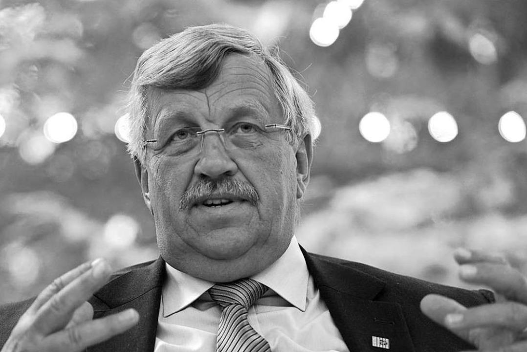 Walter Lübcke  | Foto: Uwe Zucchi (dpa)