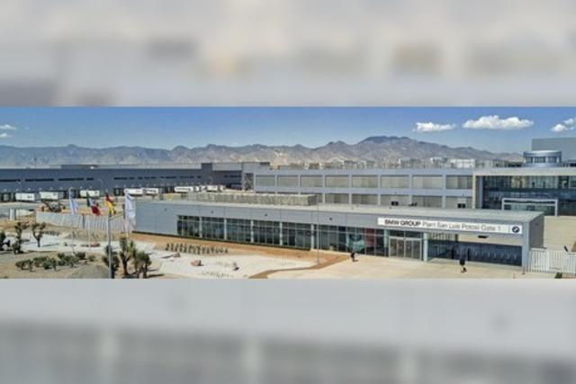 BMW baut seine 3er-Reihe jetzt in Mexiko