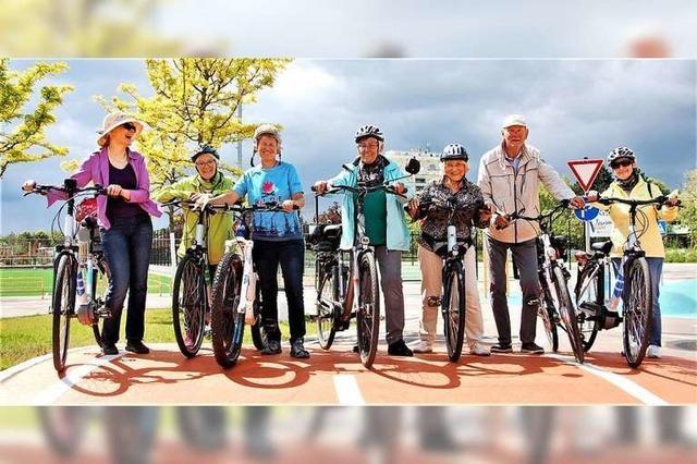 So war's beim Fahrsicherheitstraining auf E-Bikes für Senioren in Lahr