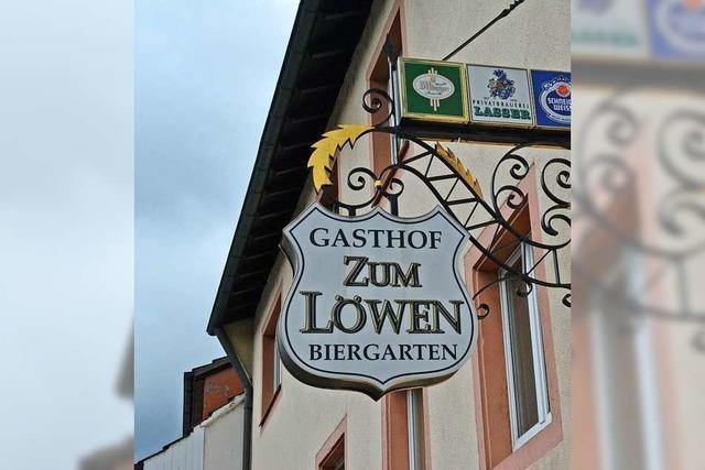 Das Grenzacher Gasthaus Löwen wird abgerissen