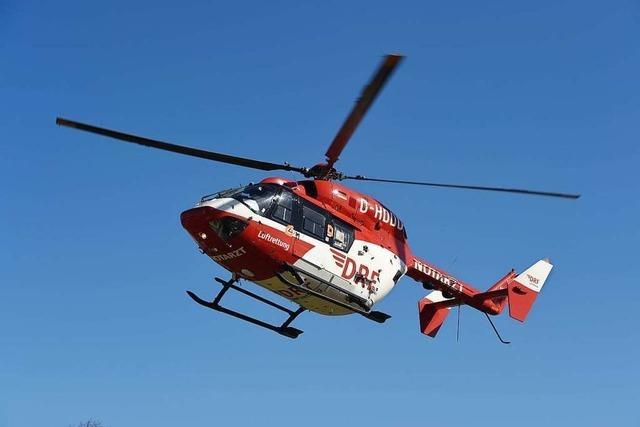 Schwerer Unfall bei Schopfheim fordert zwei Verletzte