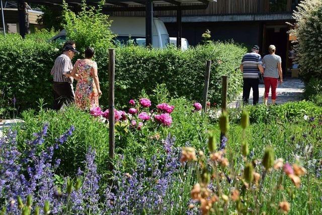Die Denzlinger Tagespflege Zur Glockenblume hat einen neuen Garten