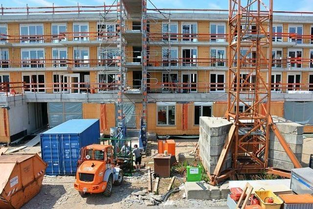 Ende des Jahres sollen die ersten Mieter in die neuen Häuser der Wohnbau Weil einziehen