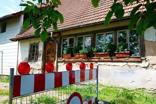 Sanierung des Zechenwihler Hotzenhauses soll rasch beginnen