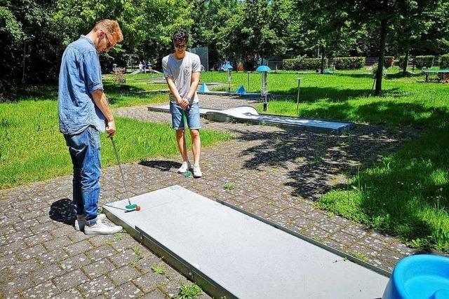 Im Bürgerpark soll es Raum für Minigolf, Urban Gardening und andere Ideen geben