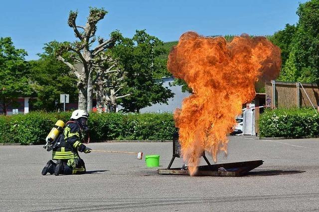 Feuerwehr wirbt mit Schauübungen um Nachwuchs