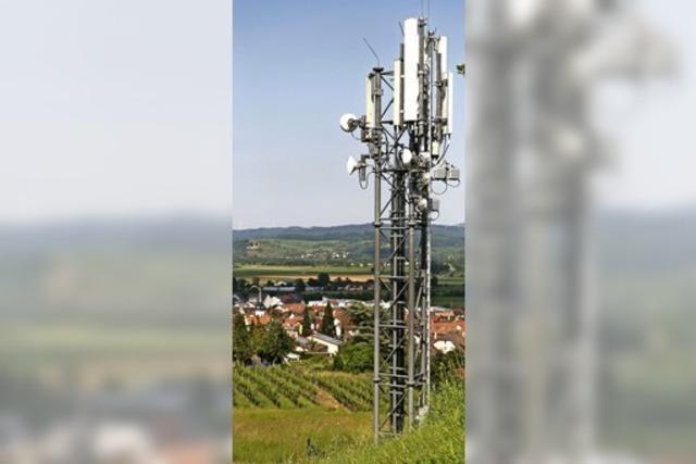Höherer Mast für Mobilfunk