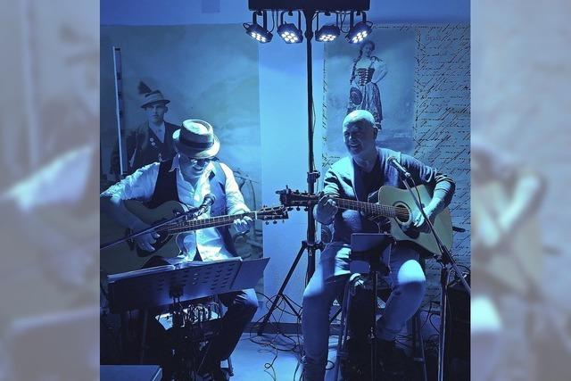 Uli Haim und Blacky Schwarz gastieren in der Amici Bar