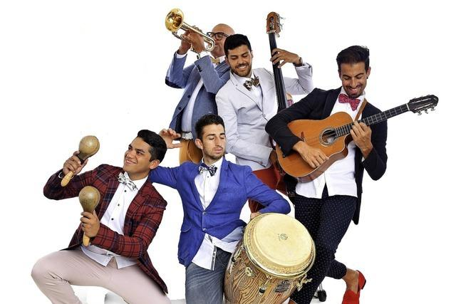 Liveband Son Con Ron zu Gast bei Salsa en Vivo im Mauerwerk