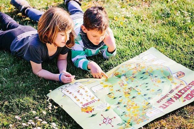 Die Kinderfreizeitkarte zeigt Angebote im ganzen Landkreis Lörrach
