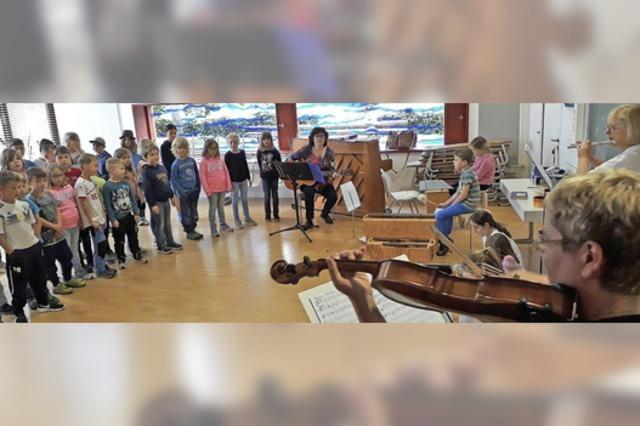 Musiktheater an der Grundschule Wagenstadt
