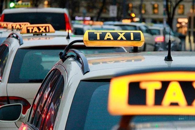 Taxibetriebe in der Region Freiburg fürchten sich vor Uber & Co.