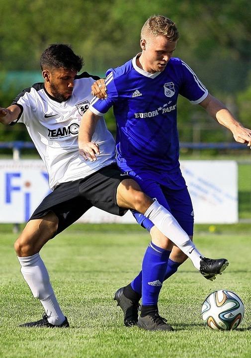 Einer der vielen Rückkehrer zum SC Off...e dieser Saison zurück vom Kehler FV.     Foto: Peter Aukthun-Goermer