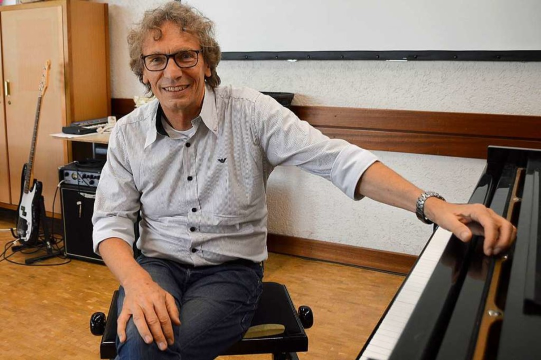 Thomas Vogt unterrichtet seit 2002 Musik am Gymnasium.  | Foto: Horatio Gollin