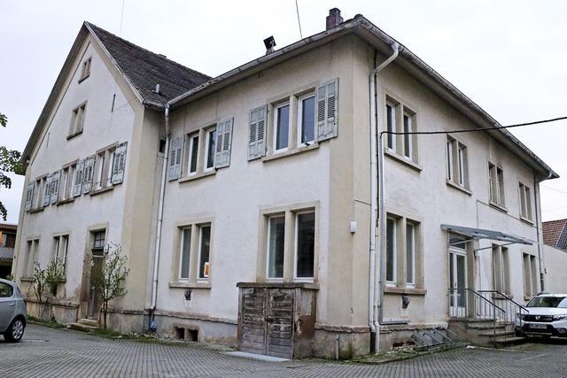 Die alte Schule in Ihringen bekommt eine Komplettsanierung