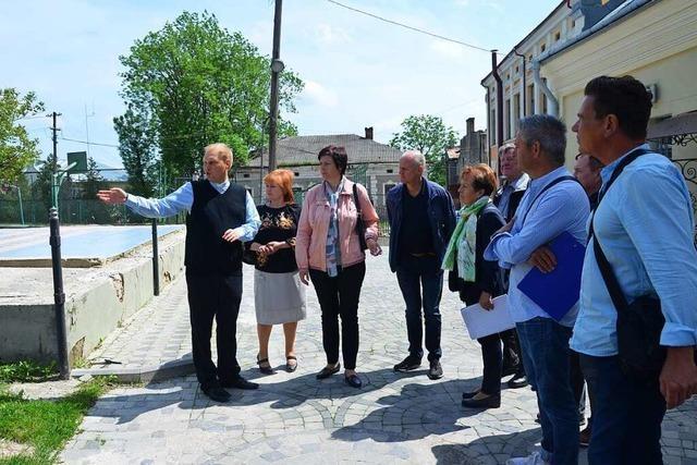 So unterstützt das DRK Gundelfingen das Ukrainische Rote Kreuz in Zbarazh