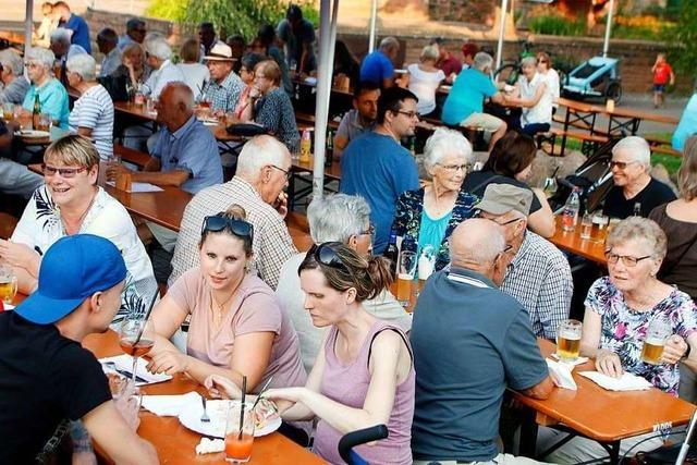 Zum 55. Mal wird das Dorffest in Seelbach für den guten Zweck gefeiert
