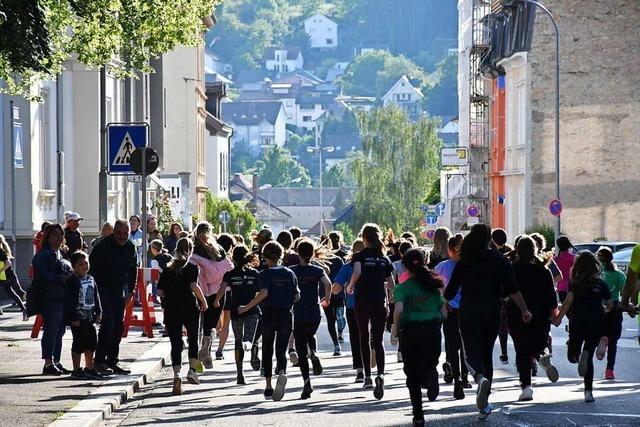 Der Lörracher Stadtlauf hat viele Stars