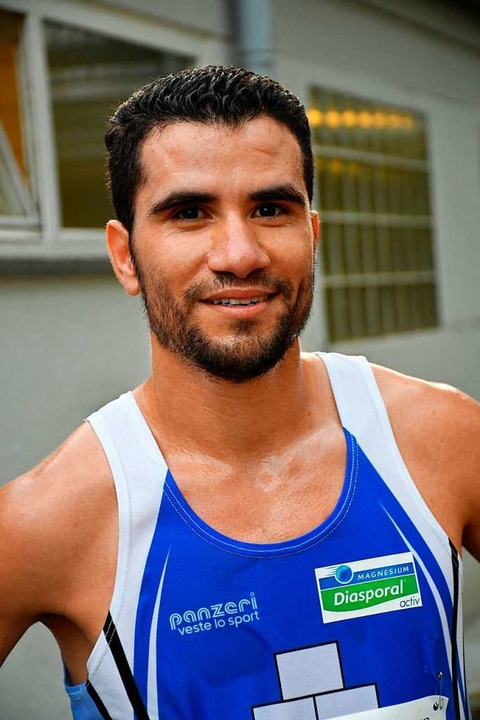 Freut sich über den Streckenrekord: Ahmed El Jaddar    Foto: Barbara Ruda