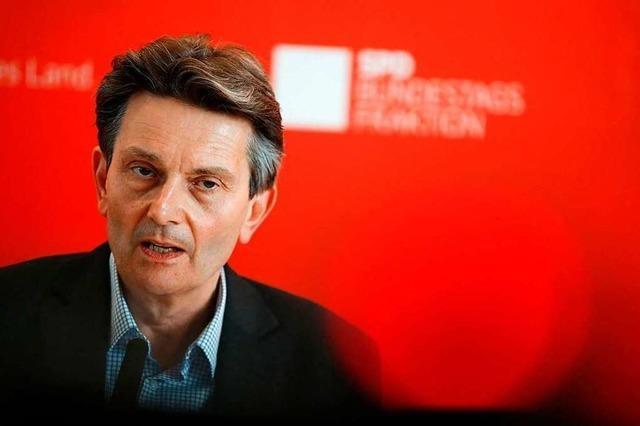 Rolf Mützenich soll die SPD stabilisieren