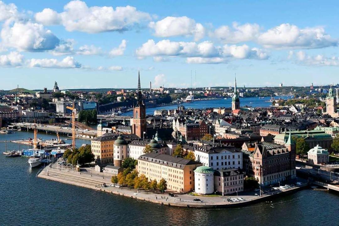 Stockholms Altstadt    Foto: Henrik Trygg (imagebank.sweden.se)