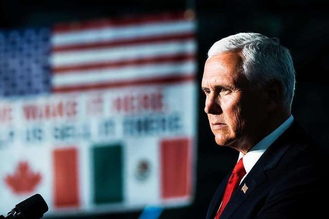 Pence: Kein Durchbruch bei Grenzgesprächen mit Mexiko