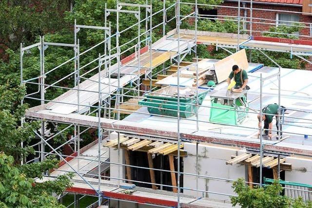 Im Gebiet Steinröhre sollen Wohnhäuser gebaut werden