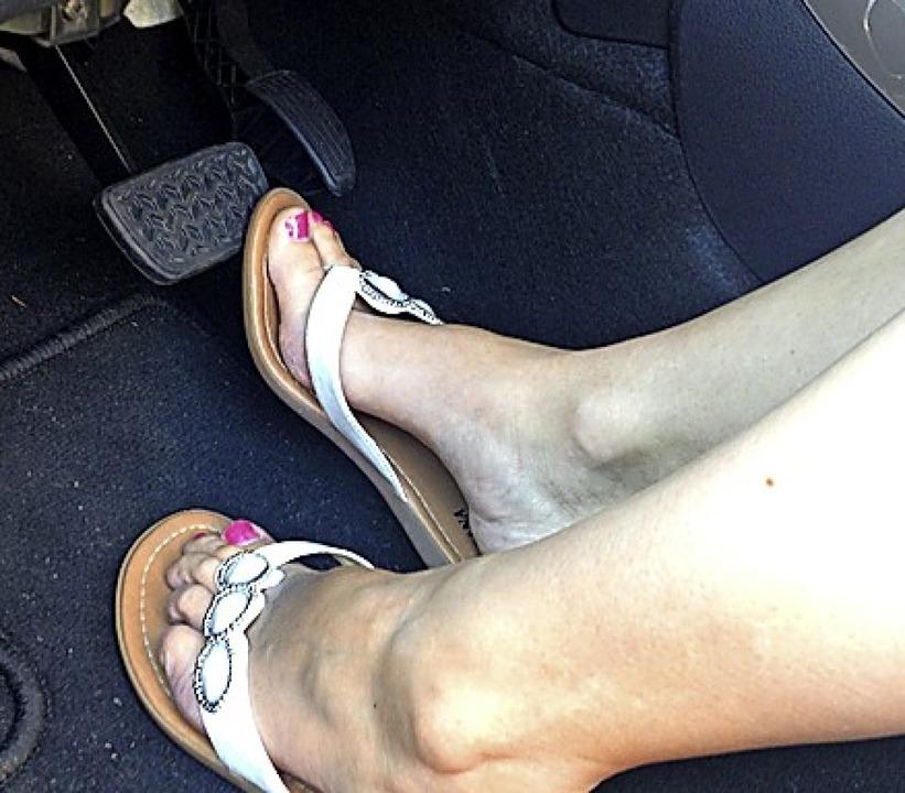 Leichte Schuhe passen nicht gut zu den Pedalen.     Foto: SP-X