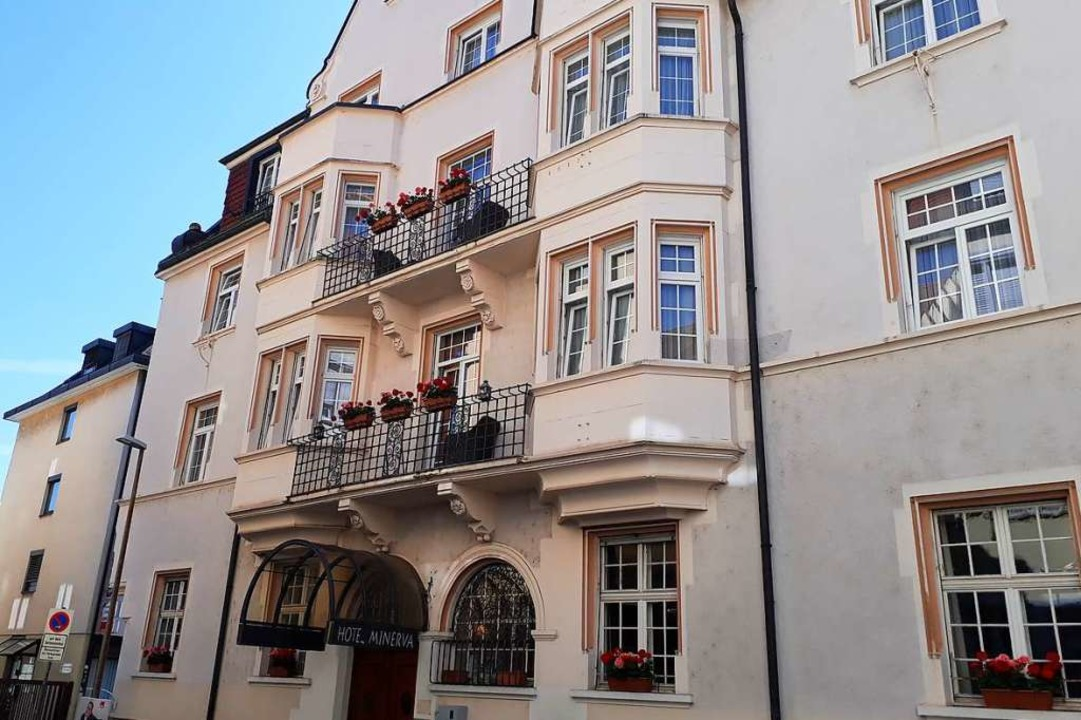 Das Hotel Minerva wird jetzt von Thomas Hess und Richart Herkert betrieben.  | Foto: Hannes Selz