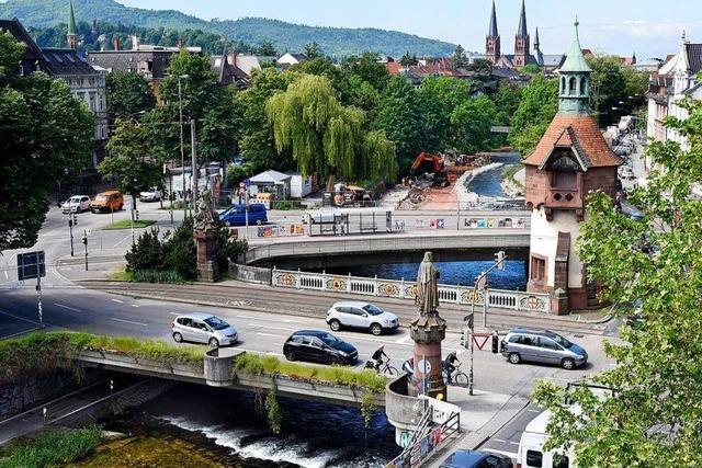 Wer aus Richtung Osten nach Freiburg fährt, muss ab Samstag mit Stau rechnen