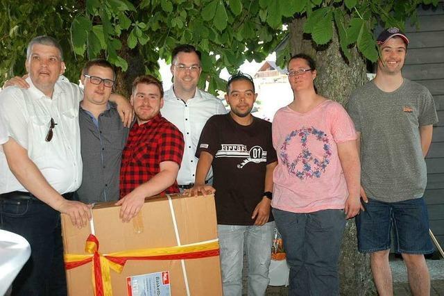Gruppe der Caritas ist in Rhina längst angekommen