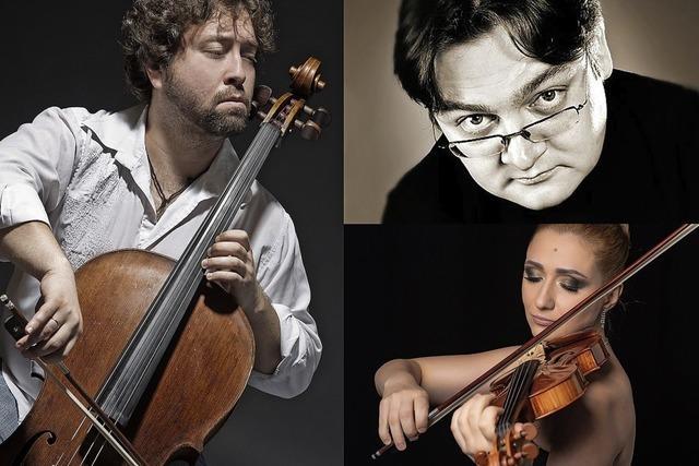 Konzert mit Klaviertrios von Mendelsohn und Smetana in Müllheim