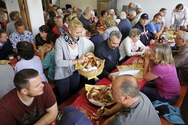 Anwohnerfest in Oberschopfheim