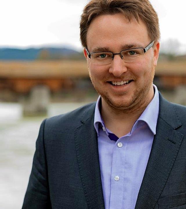 Alexander Wunderle ist  SPD-Mitglied aus Überzeugung.     Foto: privat