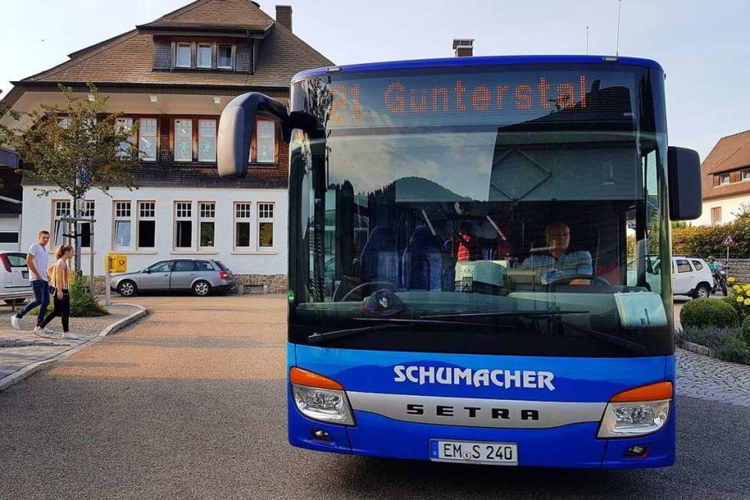 Die Buslinie 21 der VAG wird auch in d...nden Jahren weiter nach Horben fahren.  | Foto: Andrea Gallien