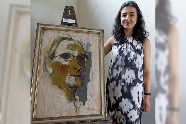 Der Maler und seine Urenkelin