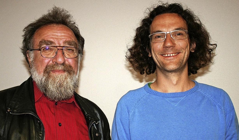Michael Straub (links) und Sebastian Prigge bilden das neue Vorstandsteam.   | Foto: Marlies Jung-Knoblich