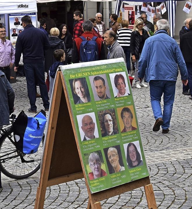 Gelobt wurde in der Hauptversammlung d... der Kandidaten waren ständig präsent.  | Foto: Stefan Ammann