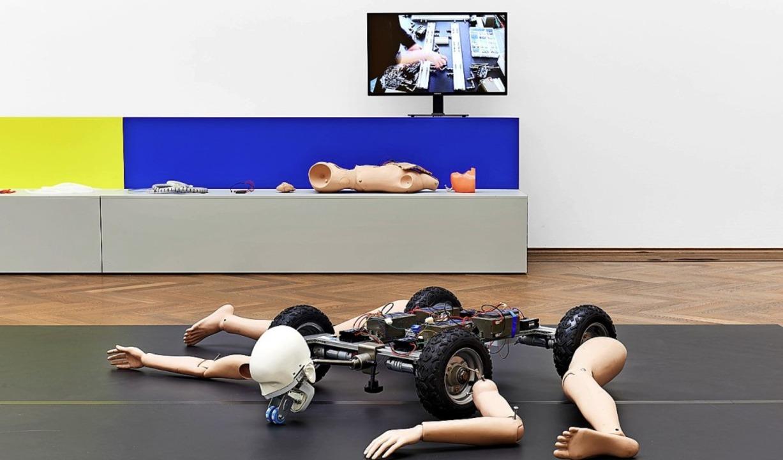 Blick in die Ausstellung von Geumhyung Jeong   | Foto: Philipp Hänger / Kunsthalle Basel