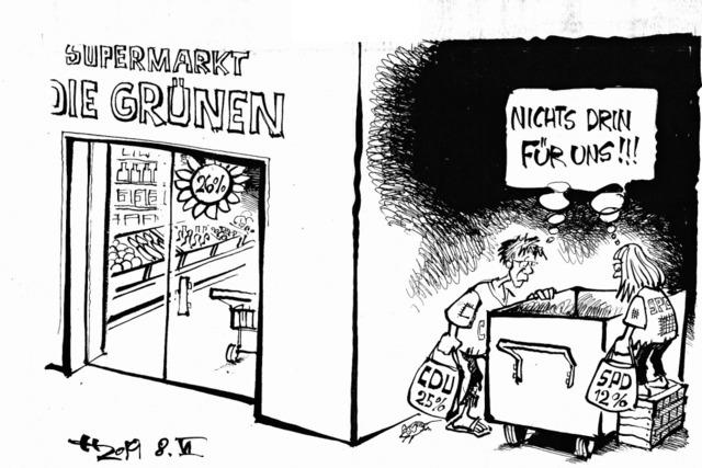 Containern der Ärmsten!
