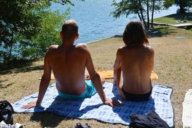 Das Hertener Loch – ein kleines Badeparadies am Hochrhein